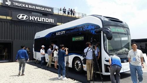 اتوبوس الکتریکی هیوندای Elec City رقیب BYD در آمریکا