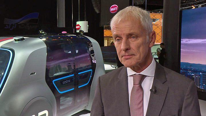 ماتیاس مولر، مدیر اجرایی گروه فولکس واگن (VW)