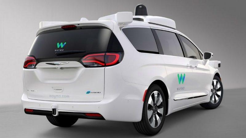 Waymo Google minivan