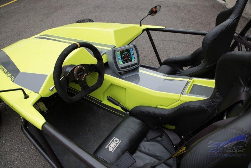 خودروی چهارچرخه اسپرت برقی Kyburz eRod