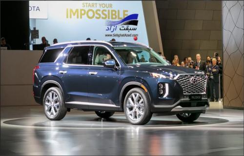 هیوندای پالیسید در نمایشگاه خودرو لس آنجلس 2018 رونمایی شد