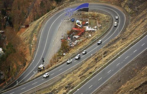 آغشته بودن سطح جاده چالوس با گازوئیل تایید شد