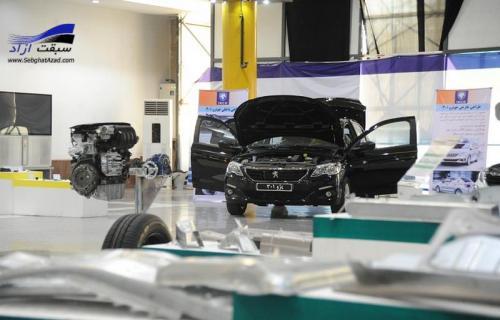 قلب ايرانی خودروی 301 در مدار توليد