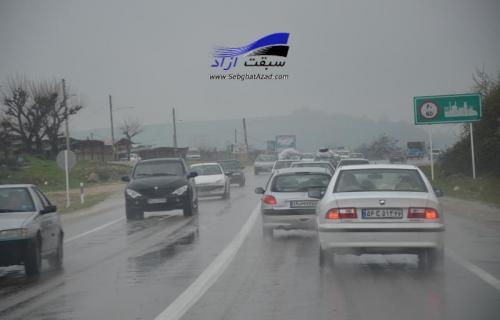 10 شرط مهم برای رانندگی در باران