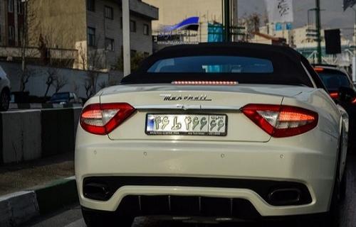 خودروهای لاکچری با پلاکهای رند توقیف میشوند