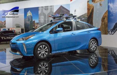 تویوتا پریوس جدید در نمایشگاه خودرو لس آنجلس 2018 به نمایش درآمد