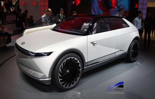کانسپت هیوندای 45 طرحی از خودروهای برقی آینده