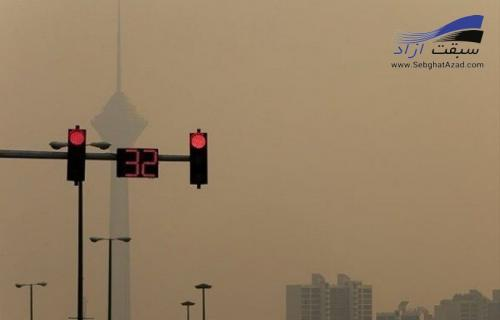 مقصر آلودگی هوا مازوت یا اگزوز خاور ؟