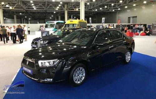دنا پلاس با نام خزر! در میان بهترینهای نمایشگاه خودروی مسکو 2018