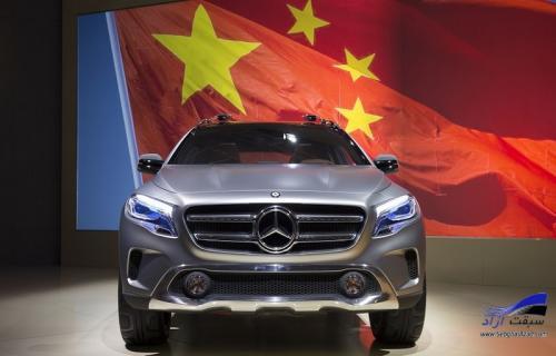 فروش موفقیتآمیز بنز در چین
