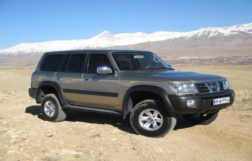 تست قابلیتهای رانندگی آفرود نیسان پاترول 2003 در منطقه آبسرد دماوند