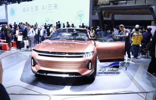 چری اکسید و بی وای دی ایسید جز 10 کانسپت برتر نمایشگاه خودروی پکن 2018