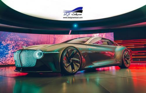 بنتلی EXP 100 GT، چشم اندازی از آینده خودروهای لوکس
