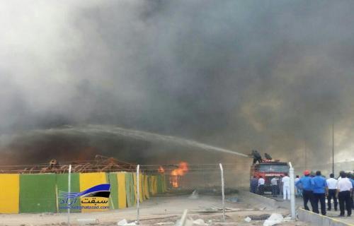 بررسی حادثه آتش سوزی در کرمان موتور ادامه دارد