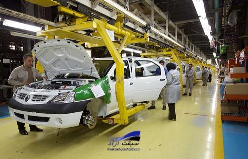 تداوم تولید خودروهای ناقص