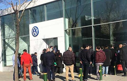 ماموت خودرو در دومین پیش فروش فولکس واگن پاسات و تیگوان استقبال مجدد را تجربه کرد