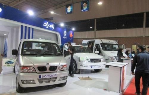 استقبال کم نظیر از ون مسافری شرکت زامیاد در نمایشگاه خودرو اصفهان