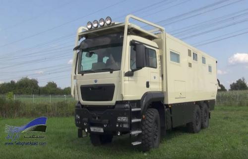 خودروی اکتشافی Unicat MD77h 6x6