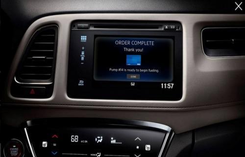 سیستم پرداخت آنلاین و ایمن از داخل خودروها