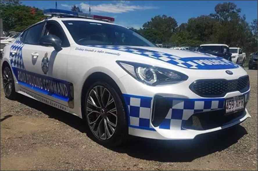 کیا استینگر ماشین جدید پلیس استرالیا